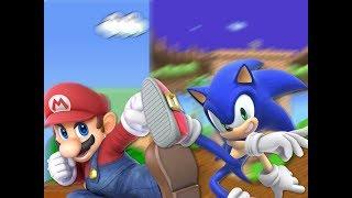 Super Mario vs Sonic the Hedgehog. Epic Rap Battles of The World Season 1