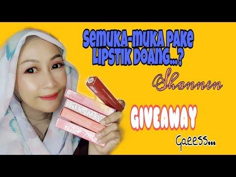 review-shannen-lip-paint//-semuka-muka-pake-lipstik//giveaway