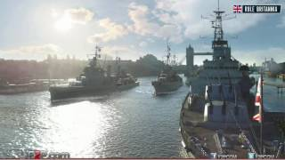 World of Warships British Cruisers Trailer