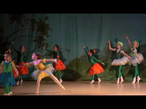 """Детский балет """"Дюймовочка"""". Цветы"""