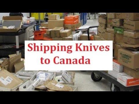 Shipping A Folder To Canada