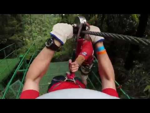 """""""Big Daddy"""" Zipline - Sky Adventures - Arenal, Costa Rica"""