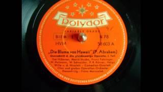 Die Blume von Hawaii - Marszalek - 1951