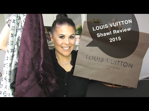 Louis Vuitton Shawl Review 2015