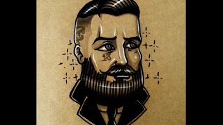 How to draw an Old School Bearded Gentlemen By thebrokenpuppet