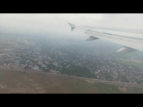 Taking off from Kinshasa International Airport