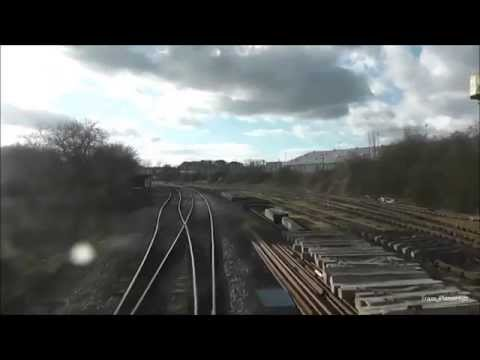 London Midland Class 150 Bedford to Bletchley *Drivers Eye View*