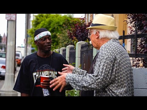 Grandpa Beatboxes in the Hood