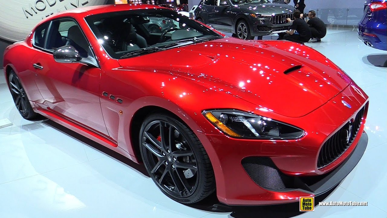2017 Maserati Granturismo Mc Exterior And Interior Walkaround 2016 La Auto Show You