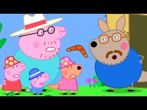 Peppa Pig Official Channel 🇦🇺 A Goodbye Present for Peppa Pig - Boomerang!