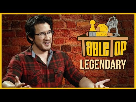 Legendary: Markiplier, Allie Brosh, and Brea Grant join Wil Wheaton on TableTop!