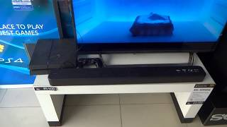 Sony HT-S100F 2ch Single Sound bar with Bluetooth technology Display Video