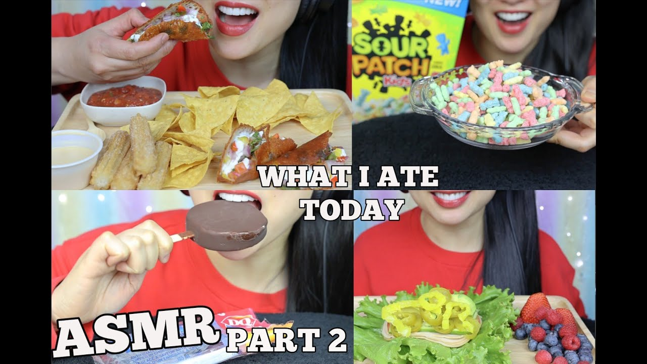 Asmr What I Ate Today Part 2 Eating Sounds No Talking Sas Asmr Youtube 🇨🇦canadian/thai🇹🇭 🏡victoria bc is home. asmr what i ate today part 2 eating sounds no talking sas asmr