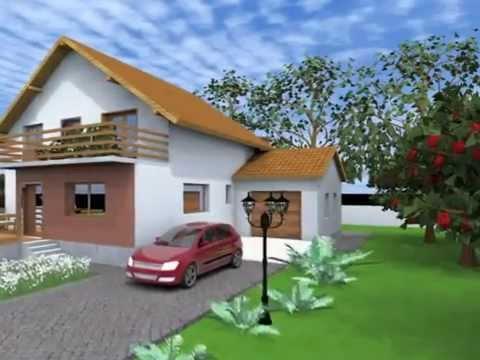 Proiecte case tip modele de case si proiecte planuri case for Case de vis mici