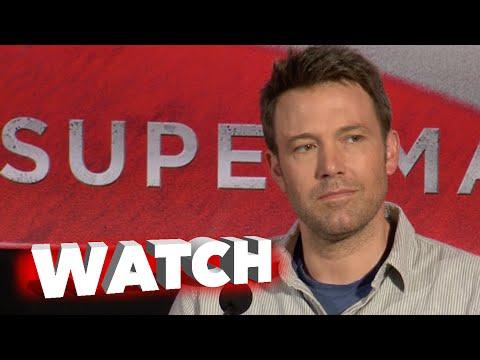 Batman v Superman: Dawn of Justice: Press Conference - Ben Affleck, Gal Gadot Cam