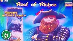 Reef of Riches slot machine, bonus
