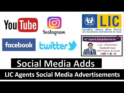 LIC Agents Advertisement's : Social Media Marketing : 5 Adds