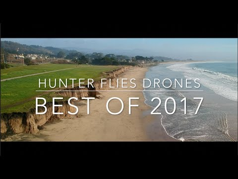 DJI Spark - Best of 2017 - Sunsets and more in Half Moon Bay