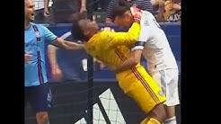 Zlatan Ibrahimovic given two-match ban for grabbing the throat of New York City keeper Sean Johnson