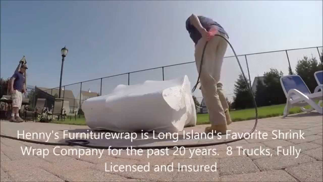 Outdoor Furniture Shrink Wrapping Hamptons And Long Island YouTube - Outdoor furniture long island