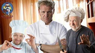 Лучший шеф повар из Англии готовит жгучие спагетти