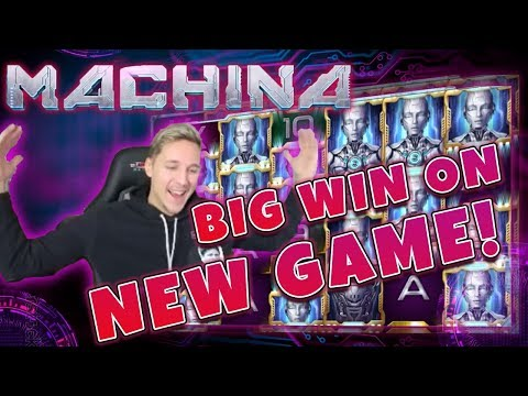 BIG WIN Machina Megaways - New slot from Relax Gaming - Huge win on Casino Game - 동영상