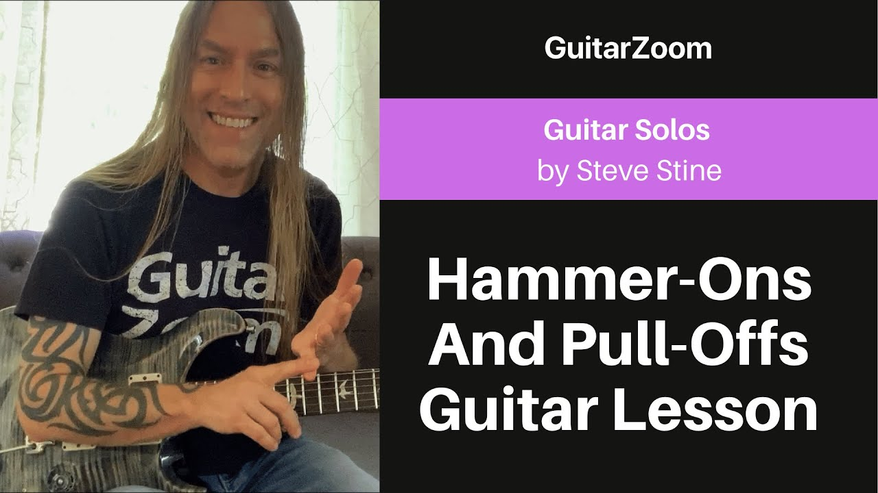 Hammer-Ons And Pull-Offs Guitar Lesson | Guitar Solos Workshop