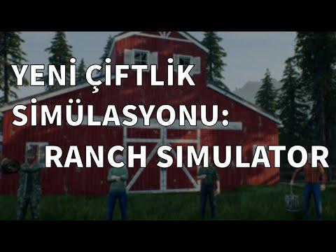 YENİ ÇİFTLİK SİMÜLASYONU: Ranch Simulator |