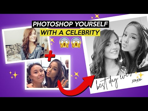 How To Put A Person With A Celebrity 2019 (Photoshop Tutorial)