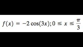 F(x) = -2cos(3x)