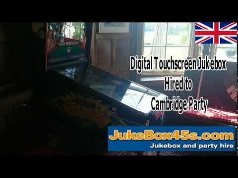 digital touchscreen hire party cambridge