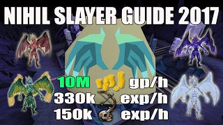 [Runescape 3] Nihil Slayer Guide 2017: Up to 10M GP/H!!!