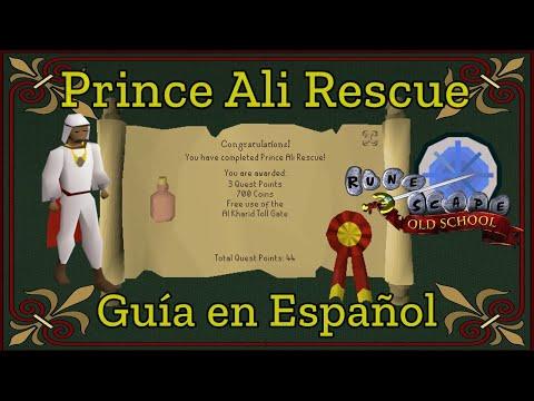 [OSRS] Prince Ali Rescue (Español)