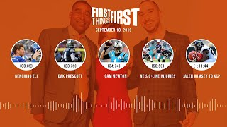 First Things First audio podcast (9.18.19)Cris Carter, Nick Wright, Jenna Wolfe | FIRST THINGS FIRST