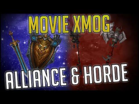 Warcraft Movie In Game Transmog Alliance & Horde