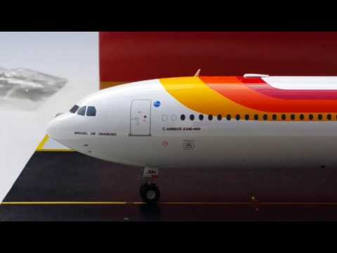 JC Wings 200 Iberia Airbus A340-600(Old Livery)Review