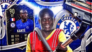 FIFA 20 : KANTE 90 IF STAUBSAUGER SQUAD BUILDER BATTLE !! 😱🔥