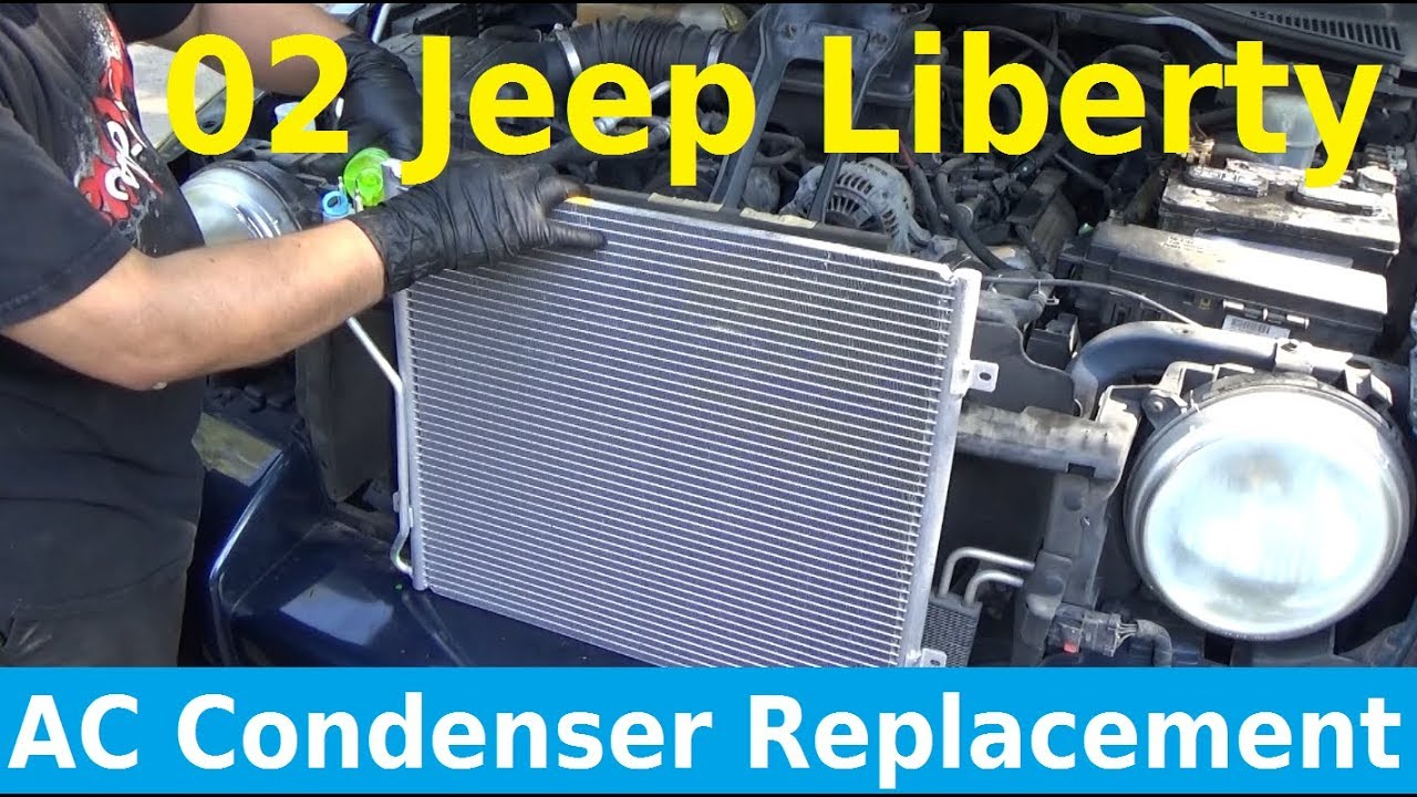 hight resolution of 2002 jeep liberty ac condenser replacement automotive education diy auto homeschool