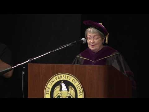 University of Iowa College of Law Commencement - May 12, 2017 on YouTube