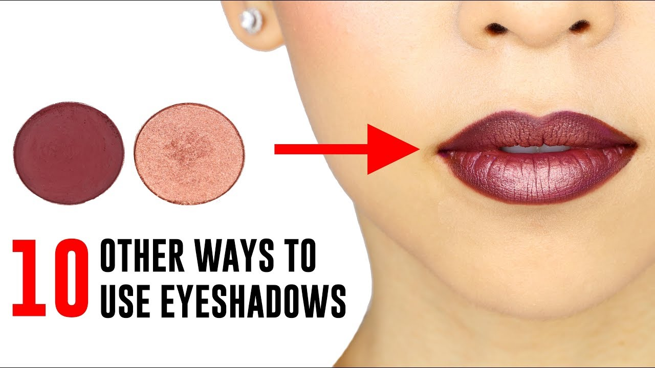 10 Other Ways To Use Your Eyeshadows
