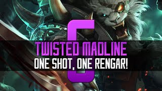 ◄ One Shot, One Rengar! ► Patch 6.13 - Twisted Madline - Rengar Gameplay [German/HD/S6]
