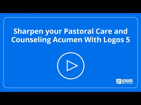 Sharpen your Pastoral Care and Counseling Acumen