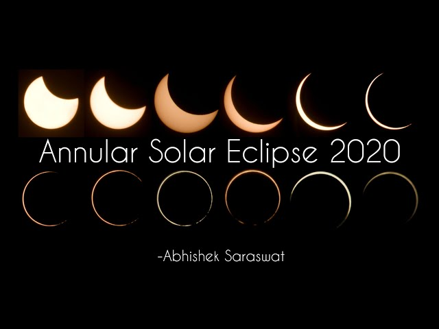 Solar Eclipse 2020 Live | Ring of Fire | Total Solar Eclipse India | Himalayan Gypsy | Travel Blog