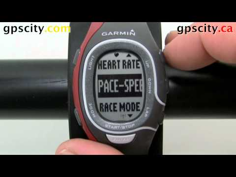 Virtual Partner on the Garmin Forerunner 60 in General Sport Mode