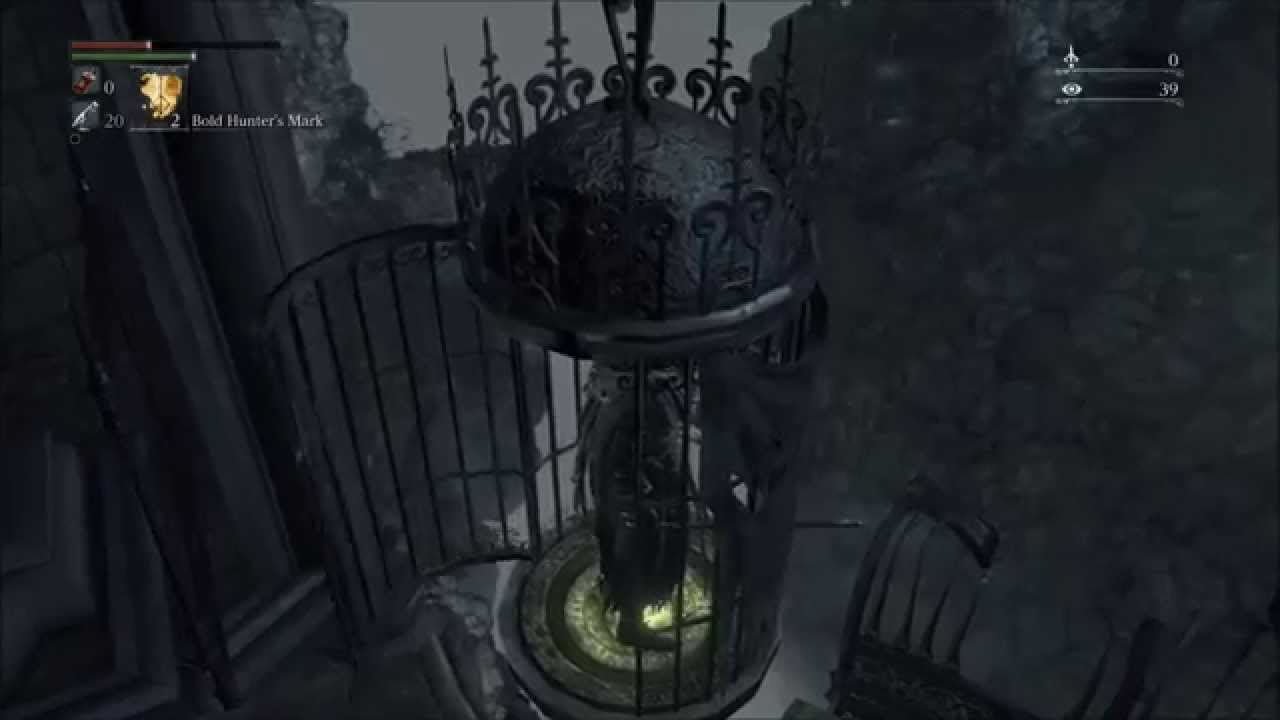 Bloodborne Get from Second Lamp Save Point to First Lamp Save ...