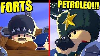 FORTS - CAMPAÑA POR EL PETRÓLEO | Gameplay Español