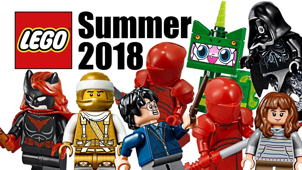 Top 25 Most Wanted Lego Sets Of Summer 2018 Youtube