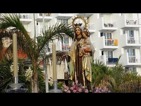 Virgen del Carmen 2016 en AD Fiesta de Canal Sur