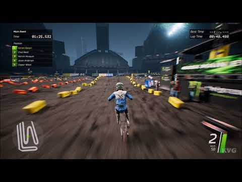 Monster Energy Supercross - Seattle (Century Link Field) - Gameplay (PC HD) [1080p60FPS]