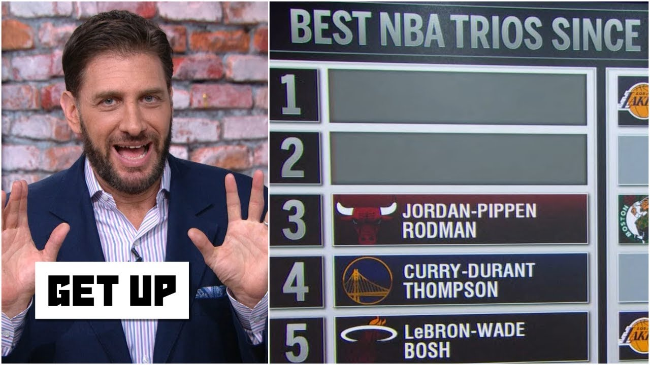 Download Greeny has issue with Bulls' trio of Jordan, Pippen & Rodman being ranked 3rd best | Get Up
